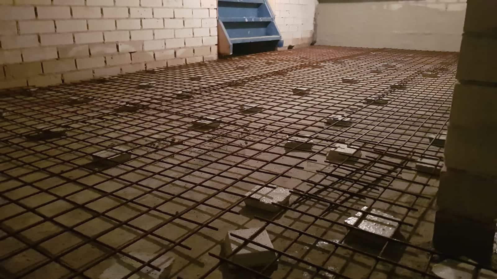 Afdichting van een 85m2 grote kelder in Surhuisterveen betonnetten
